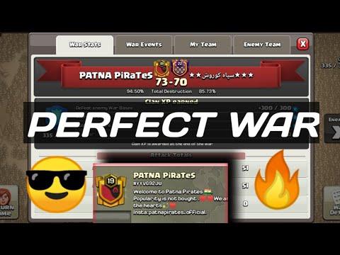 Perfect War   Patna PiraTes Vs Arabic Clan   War Highlights   ❤️