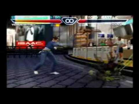 Tekken 4 Yoshimitsu Story 1 2