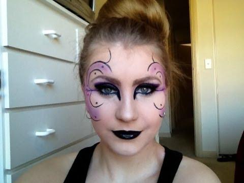 Dark Fairy Halloween Makeup Tutorial ♡ - YouTube