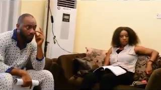 YUL EDOCHIE IGNORES A DIRECTOR ON SET FOR A TV PROGRAM
