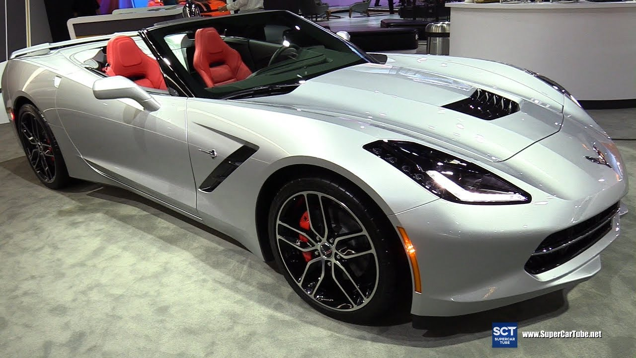 2018 Chevrolet Corvette Stingray Exterior And Interior Walkaround 2017 La Auto Show
