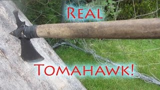 How To Make A Steel Tomahawk
