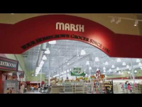 Exploring a closing Marsh supermarket...