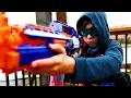 Elite Nerf Strike: Arsenal | Movie Part 1 (Nerf War)