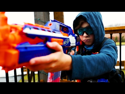 Elite Nerf Strike: Arsenal | Movie Part 1 (Nerf War)