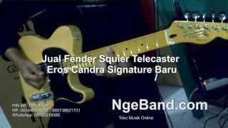 Fender Squier Telecaster Eros Candra Signature