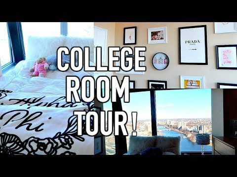 COLLEGE DORM TOUR   BOSTON UNIVERSITY STUVI 2!
