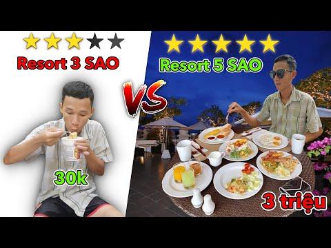 Resort 3 Sao vs Resort 5 Sao | Khu Nghỉ Dưỡng 3 SAO vs 5 SAO - Hồ Mây Park vs Marina BAY