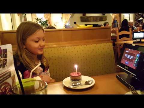 Autumn Olive Garden Birthday