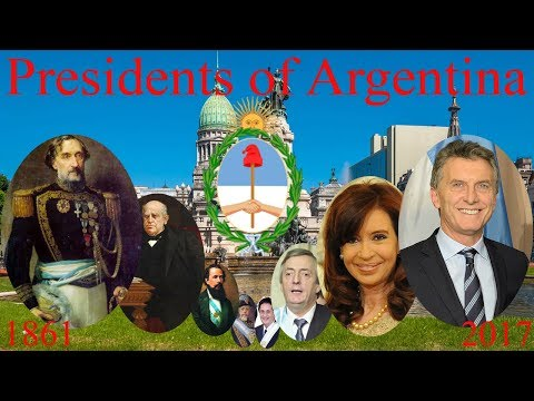 Presidents of Argentina (1861–present)