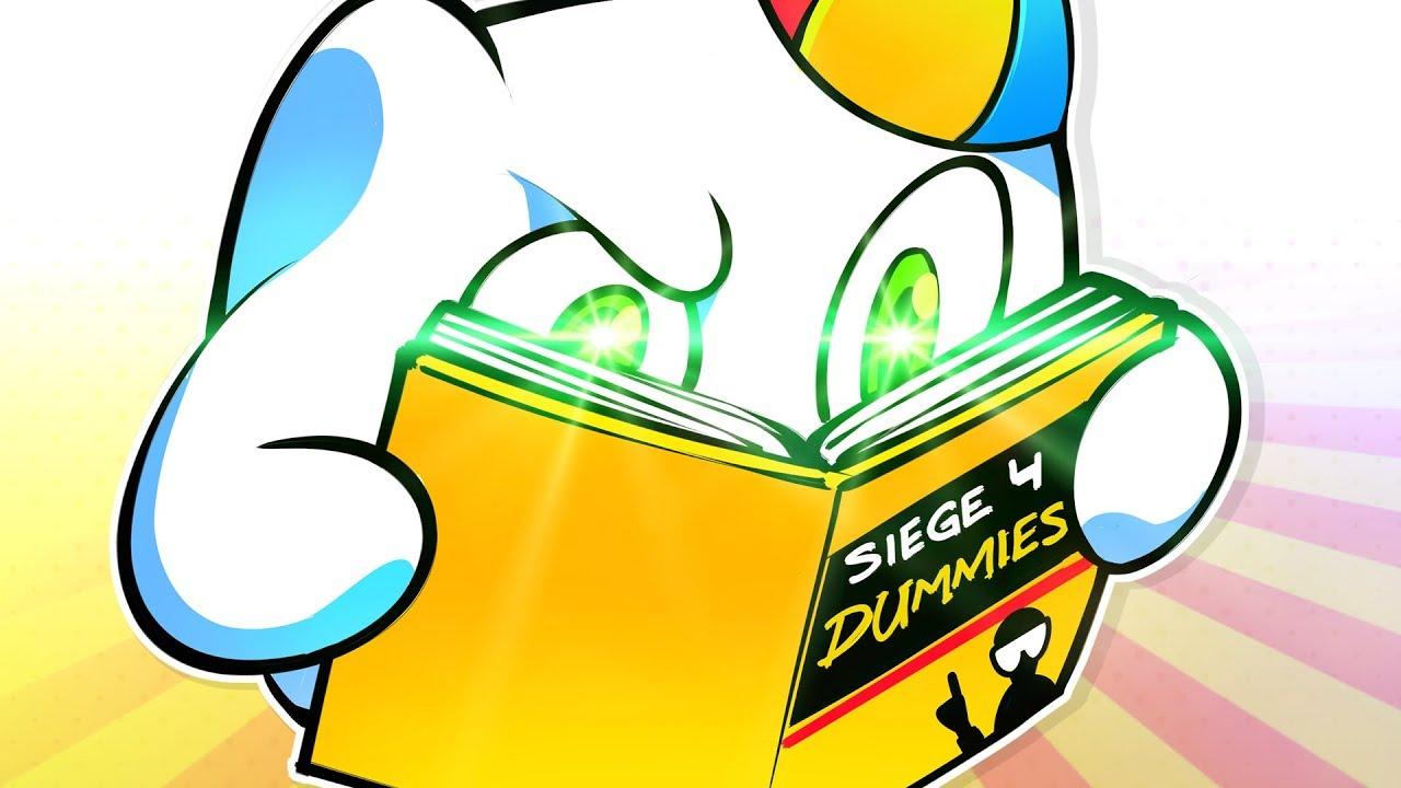 Rainbow Six Siege FUNTAGE! - Siege 4 Dummies