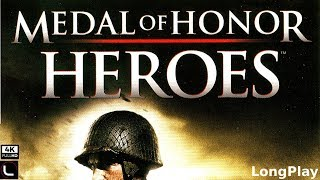 PSP - Medal of Honor: Heroes - Full Game Walkthrough [4K]