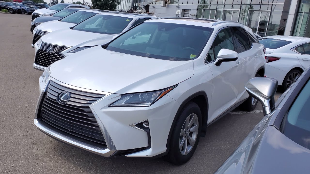 2019 Lexus RX 350 Premium Package in 4K on a Used Vehicle at Lexus South Pointe