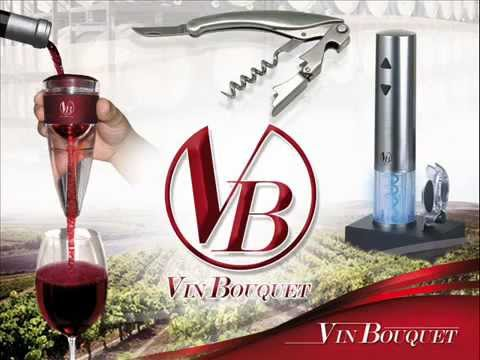 Vin Bouquet ; Spanish supplier of various wine accessories.mp4