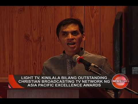 LIGHT TV, PINARANGALAN NG ASIA PACIFIC EXCELLENCE COUNCIL | NewsLight (September 10, 2018)