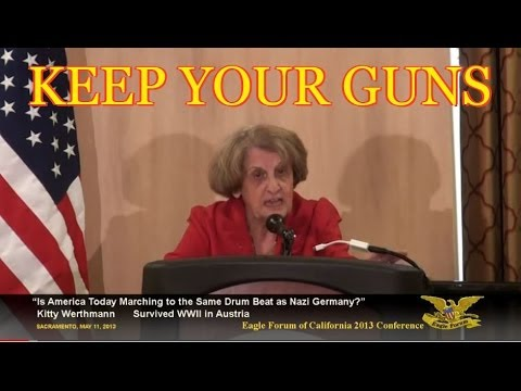 CALIFORNIA  POLITICIANS WANT YOUR GUNS - In the beginning Hitler was like an American politician