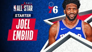 Best Plays From All-Star Starter Joel Embiid | 2020-21 NBA Season