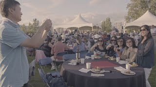 """Link to YouTube video """"Experience the magic of Bard-B-Q & Fireworks"""""""