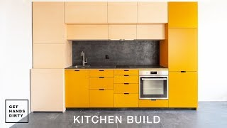 I Built a Kitchen! // Tiny Apartment Ep.4