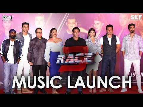 Race 3 | Music Launch Event | Salman Khan, Anil Kapoor, Bobby Deol, Jacqueline Fernandez, Daisy Shah