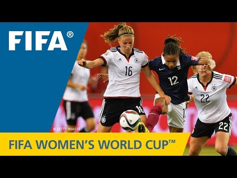HIGHLIGHTS: Germany v. France - FIFA Women's World Cup 2015
