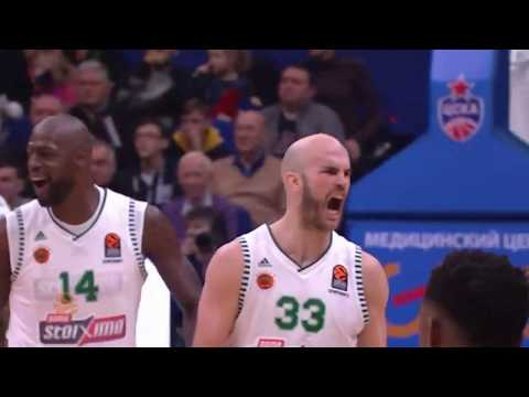 CSKA Moscow - Panathinaikos BC OPAP Athens 77-78 | Euroleague Highlights