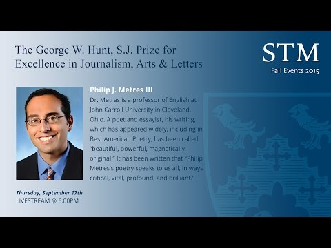 Phillip J. Metres III - Prize for Excellence in Journalism