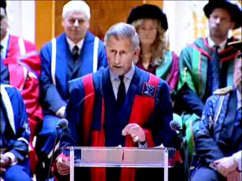 HRH Prince of Wales - Roscoe Lecture and Honorary Fellowship conferment