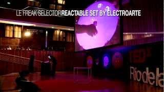 Le Freak Selector Reactable   Electroarte   TEDxRiodelaPlata