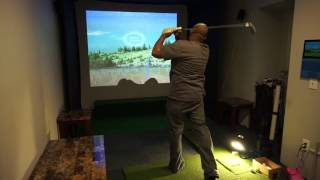 golf simulator theater optima hd26 xbox one part 3