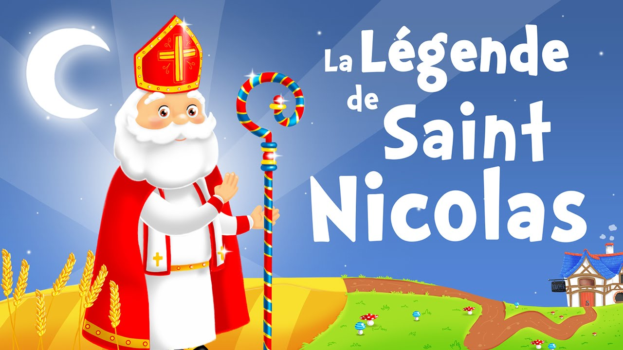 The Legend Of Saint Nicholas In French Christmas Song For Kids With Lyrics