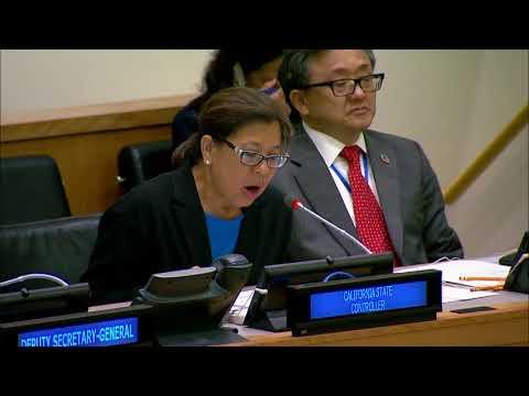 Betty Yee @ Financing the 2030 Agenda Event