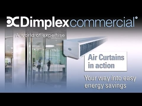 Dimplex Air Curtain Animation