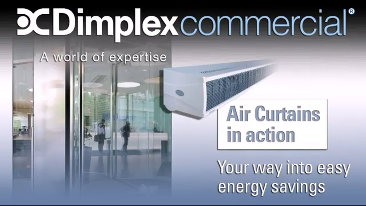 Dimplex Air Curtain Animation  YouTube