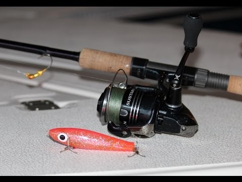 Recommended Tackle for Redfish & Snook Fishing