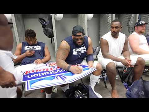 Scenes from the Penn State locker room after the Fiesta Bowl win over Washington