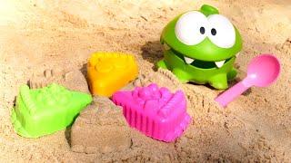 Песочный торт для игрушки Ам Ням Игры с песком для самых маленьких Куличики и формочки