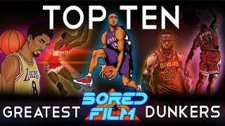 Top Ten Greatest Dunkers Ever Video