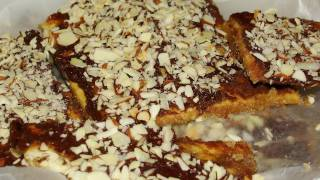 Easy Almond Roca Chocolate Covered Saltine Crackers