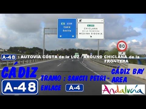 A-48 Cádiz , Zona Sancti Petri , Alrededor de Chiclana de la Fra. / Around Chiclana de la Frontera