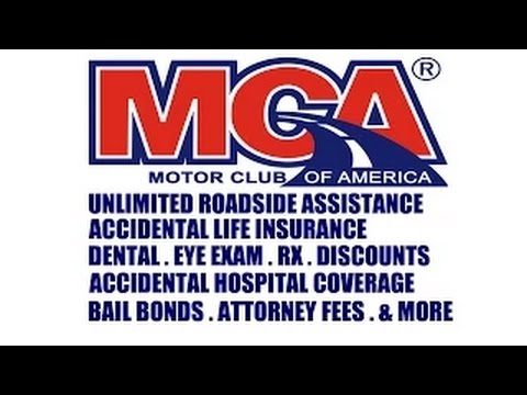 MOTOR CLUB OF AMERICA COMMERCIAL ADVERTISEMENT
