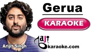 Gerua - Video Karaoke - Dil wale - Arijit Singh - by Baji Karaoke