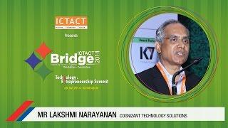 Lakshmi Narayanan   Cognizant      ICTACT Bridge 2014 Coimbatore