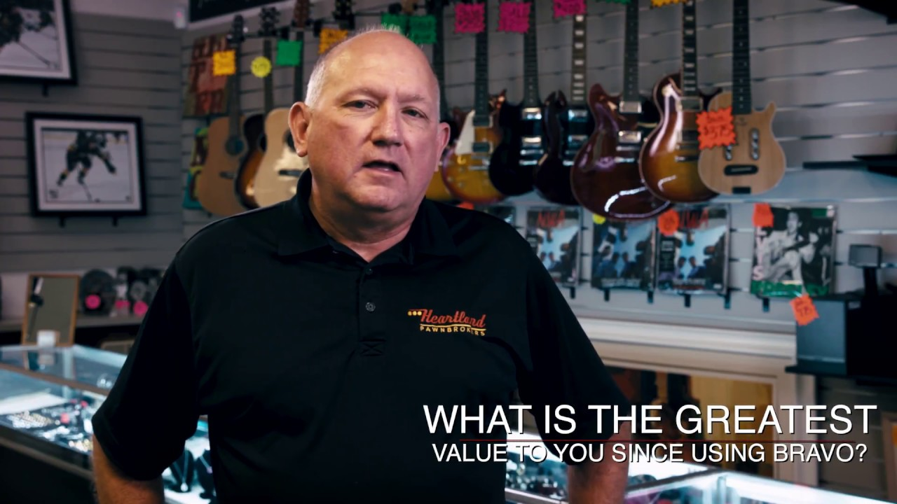 Learn why David from Heartland Pawn Brokers, Loves Bravo!