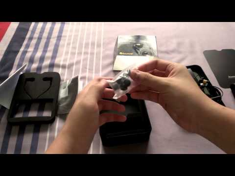 Accutone  Gemini In-Ear Headset unboxing