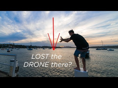 Almost LOST the DRONE OVER the OCEAN in Sydney 2/3 - Vlog #11 | From A2U - a Parkour Documentary