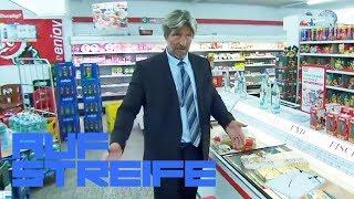 Fressattacke im Supermarkt: Lebensmittelkontrolle mal anders | Auf Streife | SAT.1 TV