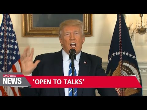 Trump open to talks with North Korea 'under right circumstances'