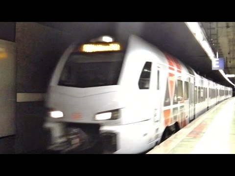 Frankfurt A M Flughafen Regionalbahnhof Mit S Bahn Rhein Main Et 420 430 Vlexx Suwex Youtube