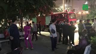 VTC14 | Cháy ở tầng 18 chung cư đường Nguyễn Cơ Thạch - Hà Nội, nhiều người hoảng loạn